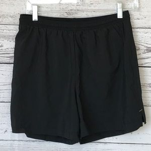 Lucy Black Athletic Shorts Lined Small